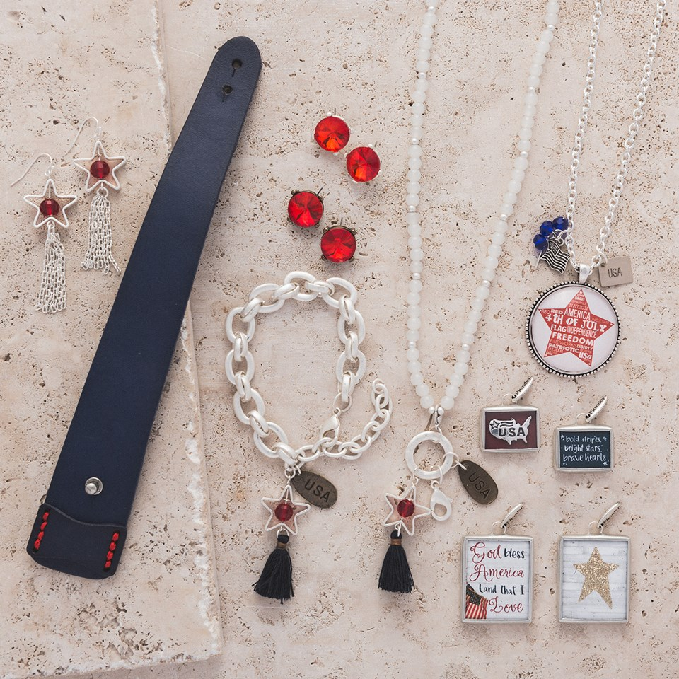 May The 4th Be With You Necklace: Plunder Design Jewelry-4th Of July Specials